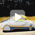 Красивое видео в full HD с мирового турне солнцемобиля SolarWorld GT (Видео)