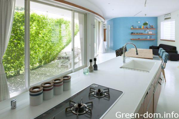 Защитный зеленый экран японских архитекторов