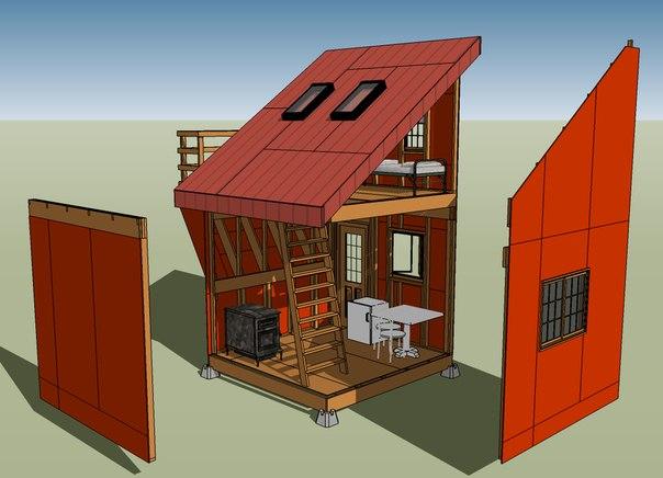 Первый дом на земле может быть и совсем небольшим
