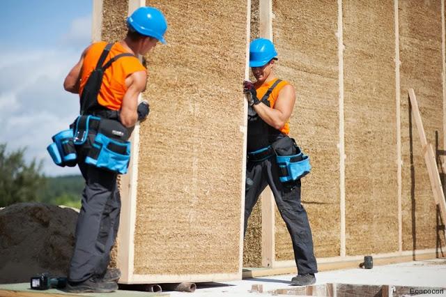 Строительство домов из Древесно-Соломенных Панелей планируется в Украине