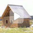 Дом своими руками из соломы и глины (Видео)