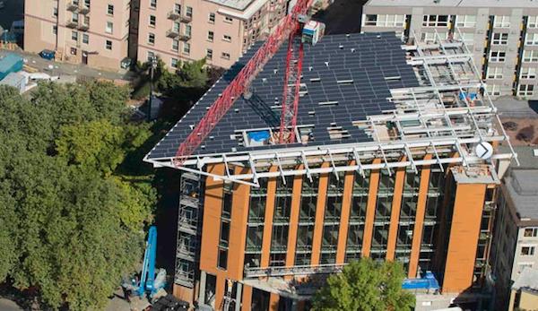 Самое экологичное офисное здание в мире