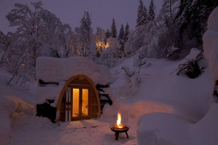 Эко-отель в Швейцарии
