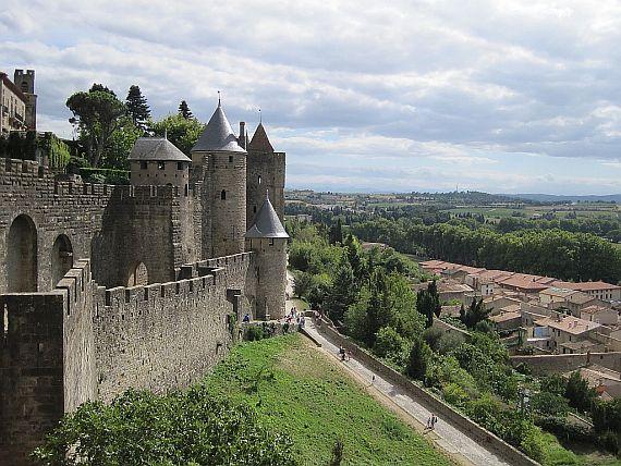 Каркассон — средневековый город (Фото+Видео)