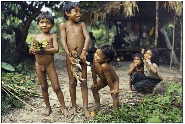 Un trib neobișnuit din Brazilia ‒ tribul indienilor piraha