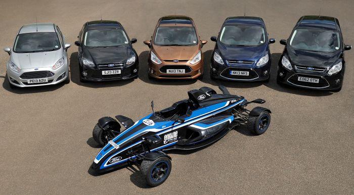 EcoBoost de la  Ford Motor Company a fost denumit «Motorul Internaţional al a.2013»