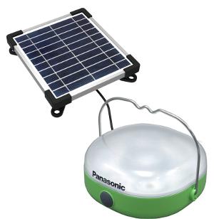 Panasonic разработал солнечный фонарик/зарядку для людей, живущих без электричества