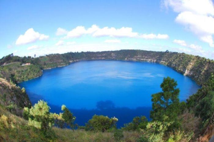Самое чистое озеро в мире найдено в Австралии