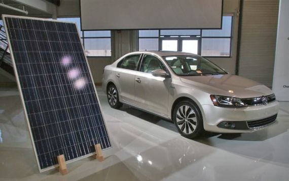 Озеленение завода Volkswagen