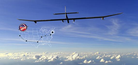 Solar Impulse — солнечный самолет перелетел Америку и вернулся домой (Фото+Видео)