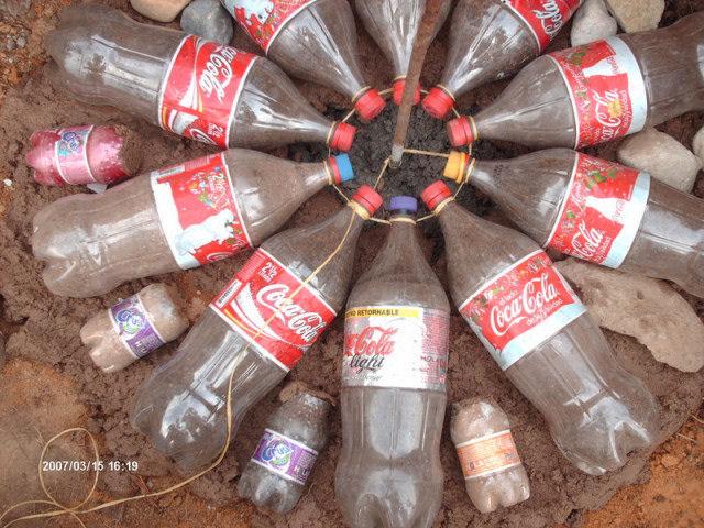 Дом из пластиковых бутылок своими руками (+Фото)