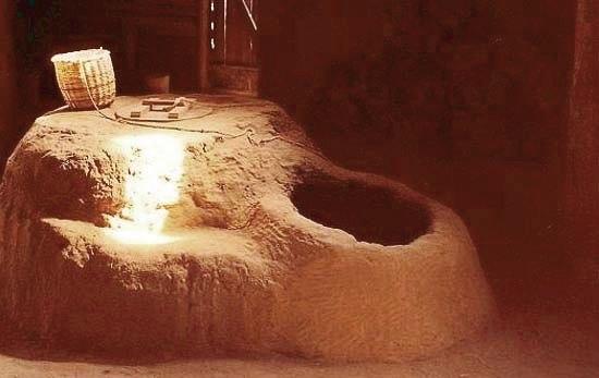 Глинянная печь Аркаима