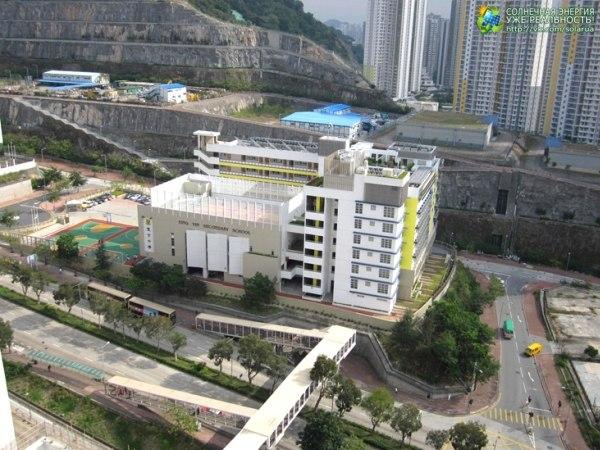 Самая экологичная школа находится в Гонконге