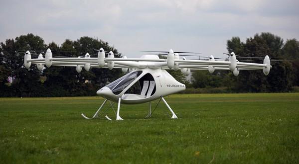 Двухместный электрический вертолет от e-volo