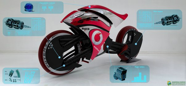 Электромотоцикл Tesla E-Max