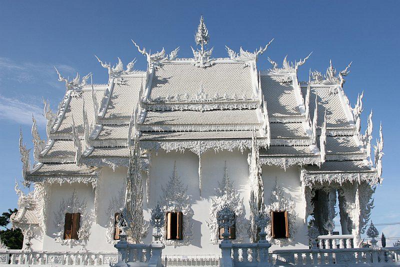 Белый храм Ват Ронг Кхун (Wat Rong Khun), Чианграй, Таиланд