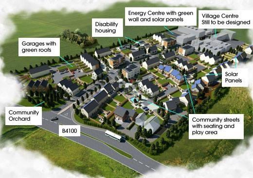 Exemplar — eco-oraș în Oksfordshid