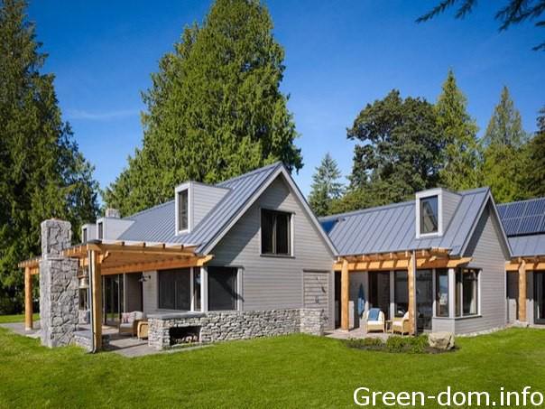 Дом на побережье в Сиэтле
