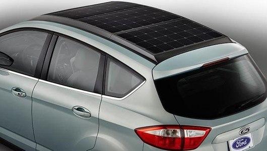 Компания Ford представляет новый автомобиль на солнечных панелях