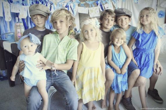 Многодетная семья Алисы Уэлч