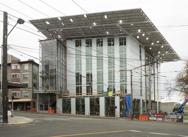 экологичное офисное здание в мире
