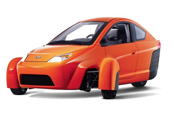 Машины от Elio Motors