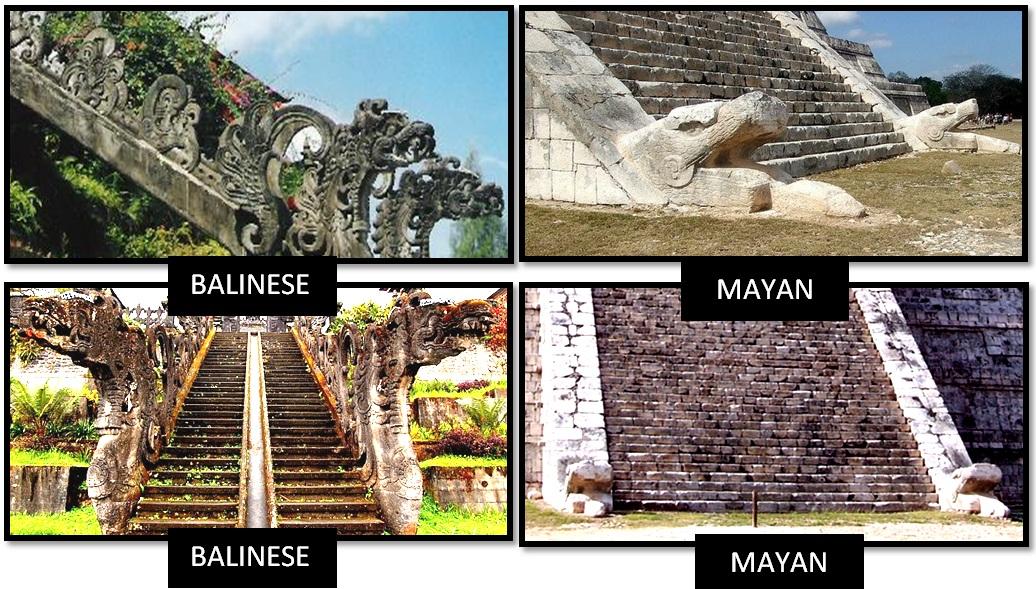 Тайна одинаковых культур Майя и Балийцев