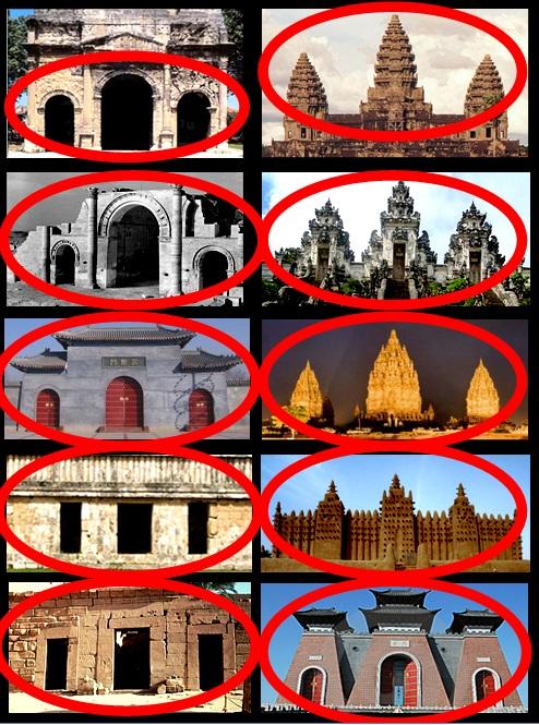 Триптих храмы