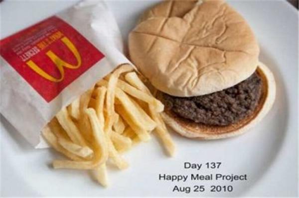 Еда из McDonald`s