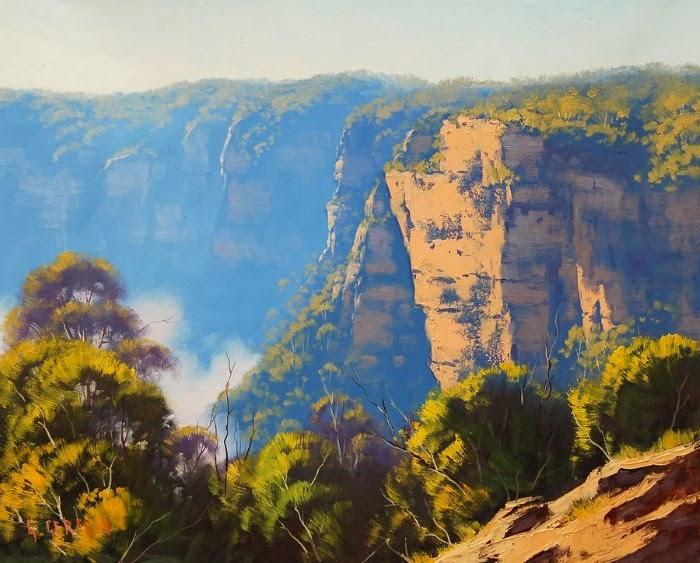 Природа Австралии и Америки в пейзажах Грэма Геркена