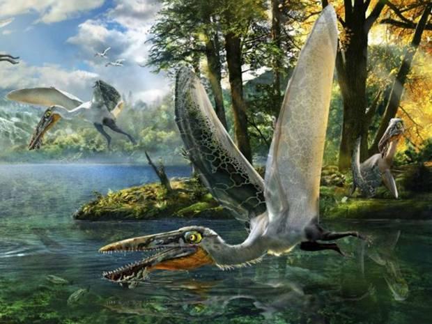 O specie antica de reptila zburatoare numita dupa o creatura din Avatar