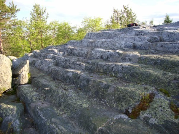 Пирамиды на Кольском полуострове