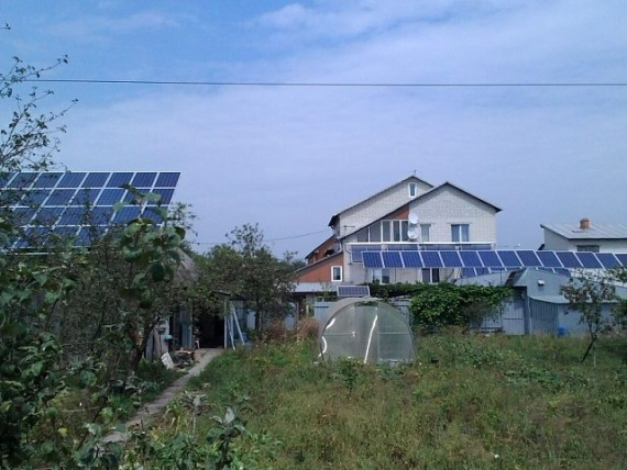солнечная электростанция в доме