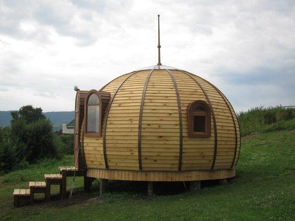Дом-купол – современное жилище