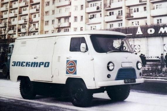 Электромобиль УАЗ