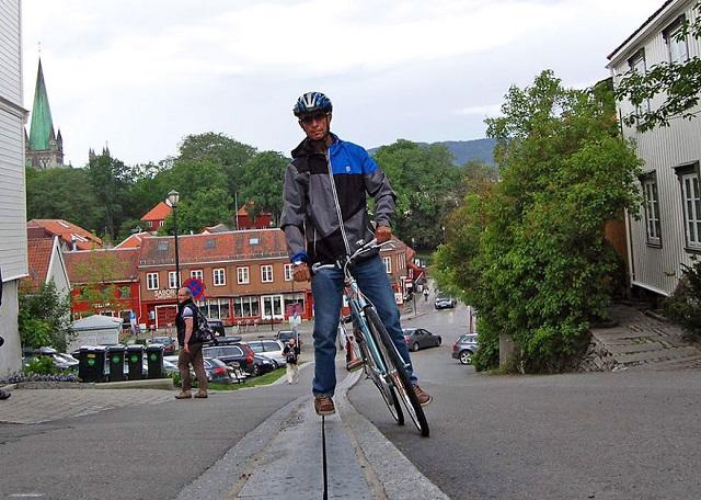 Подъёмник для велосипедистов