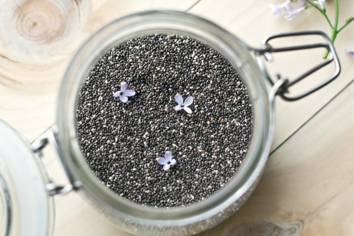Semințele de chia stimulează relaxarea organismului