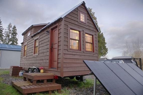 O casă pe roți ca o prezentare mare (+Foto)