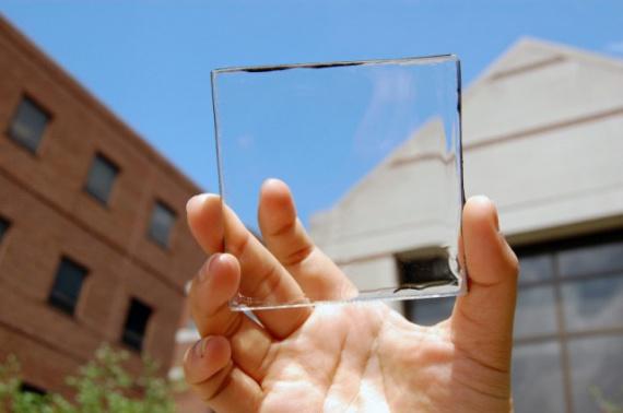 Прозрачные солнечные панели сделают каждое окно источником питания (+Фото)