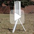 портативная ветровая турбина