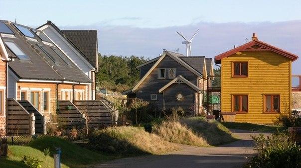 Интересные поселения нашей планеты. Финдхорн, север Шотландии