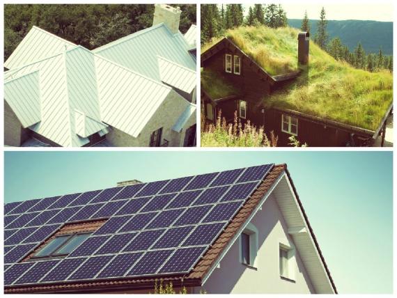 Какой тип крыши лучше в холодном климате: солнечная, белая или зеленая
