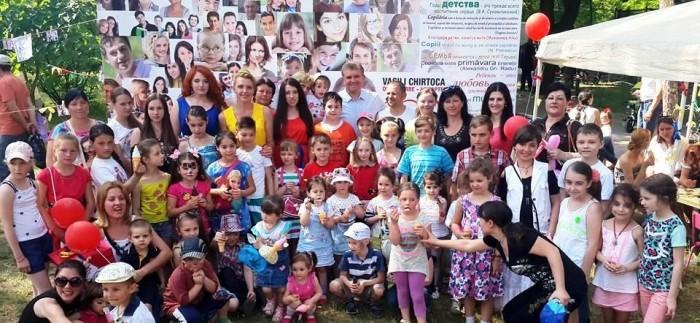 День защиты детей отпраздновали в Кишиневе