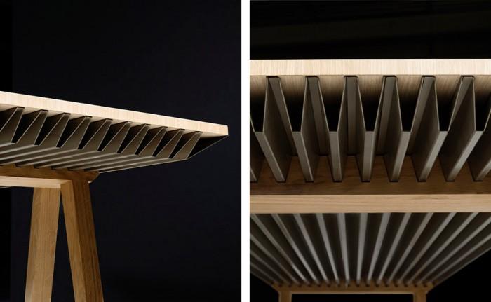 Мебель накапливает тепло, чтобы регулировать температуру в помещении