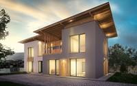 EvoHouse, пассивный дом с годовым расходом энергии меньше 200 евро