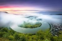 Панорама реки Мозель