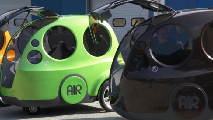 AIRPod, automobilul care merge cu aer comprimat