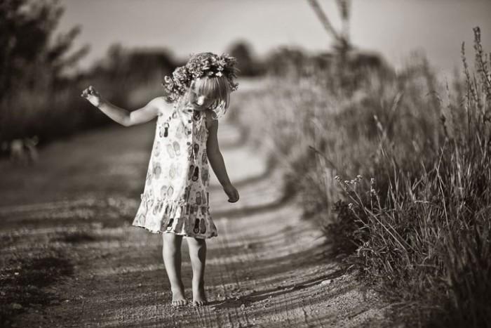 Счастливое и беззаботное детство в деревне