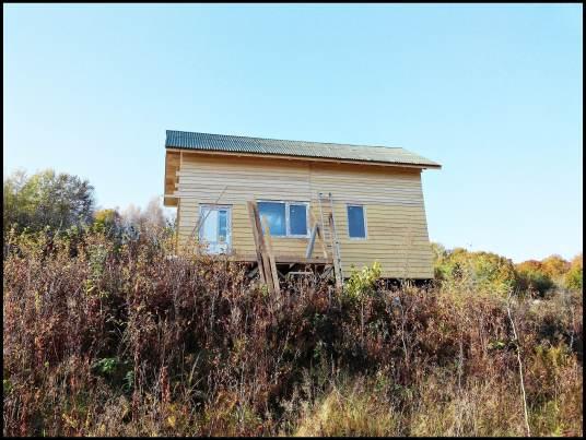 Наш домик на холме. Разрешение на строительство и утепление  (+Фото)