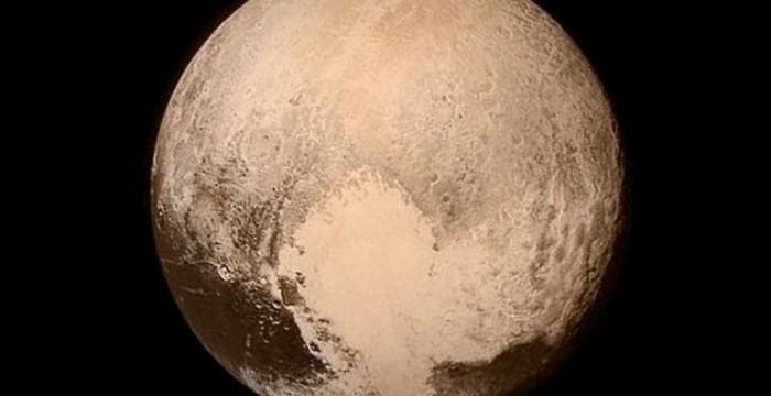 NASA создало анимацию наблюдений за Плутоном за 85 лет